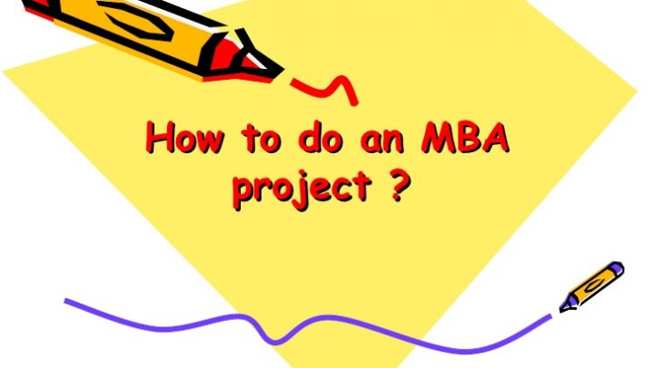 MBA Marketing Project Reports Free Download